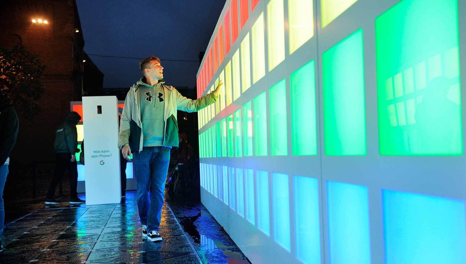 Google Light Installation