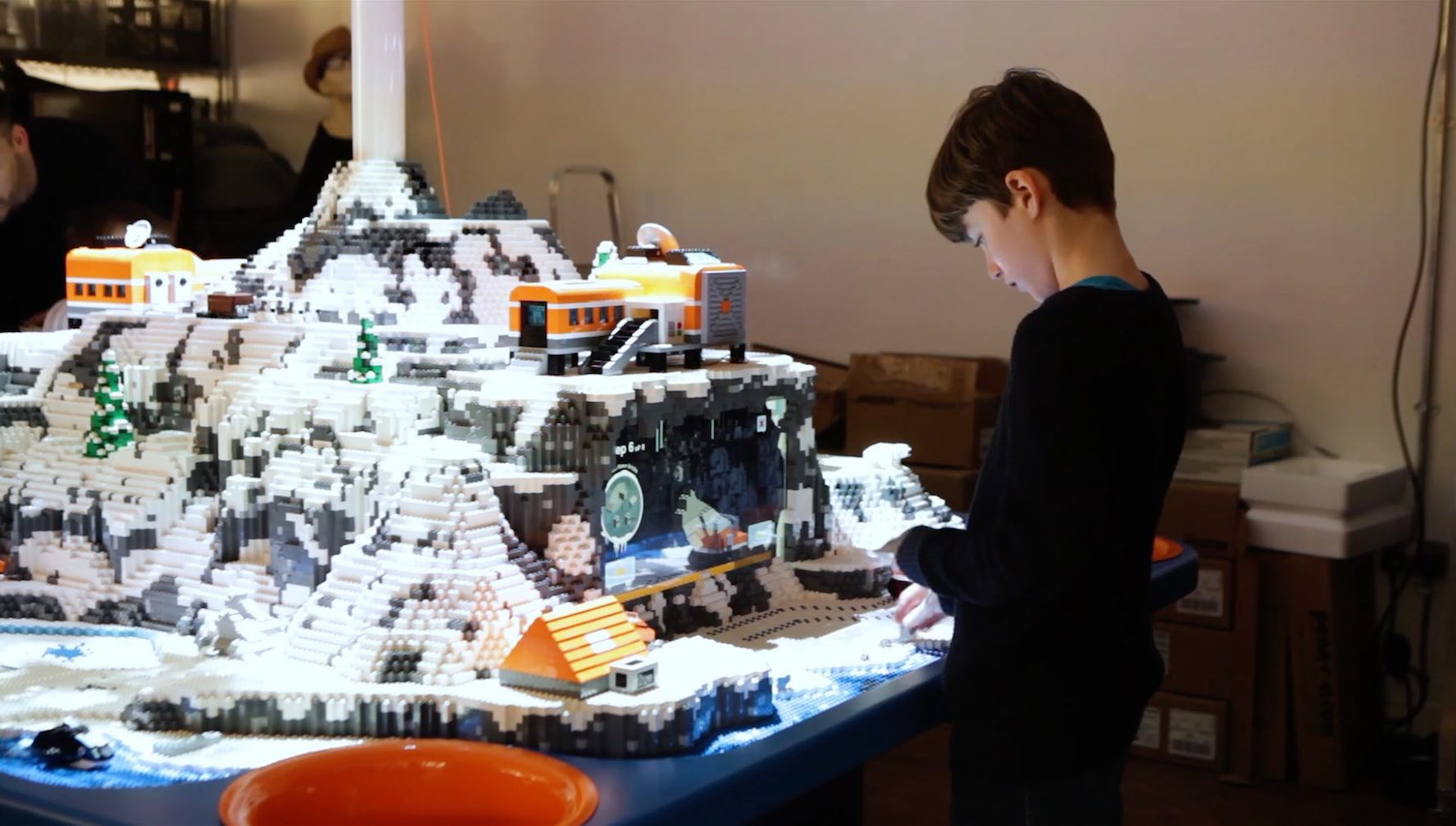 Lego Interactive Tables